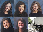 Bailey Goodman, 17, was killed along with four of her fellow cheerleaders when she swerved into oncoming traffic